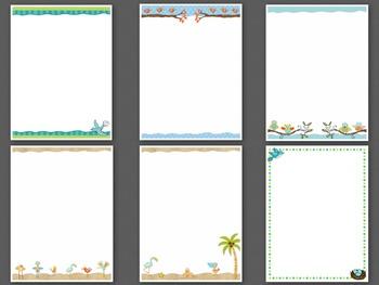 Birds Theme Paper Custom Order for Terri