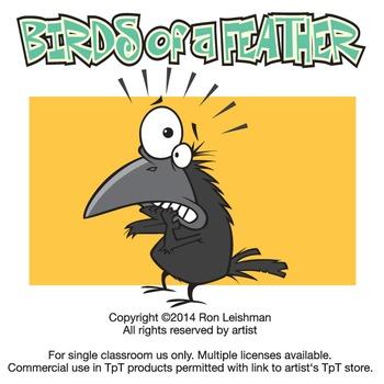 Birds of a Feather Cartoon Clipart