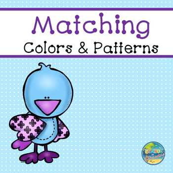 Matching Colors and Patterns:  Birds of a Feather File Fol