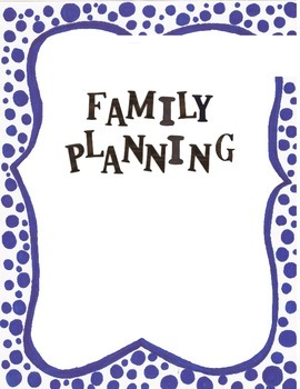 Birth Control Methods/Family Planning Digital Assignment