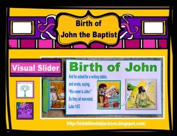Birth of John the Baptist Slider Freebie