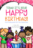Today It's Your Happy Birthday Celebration Pack