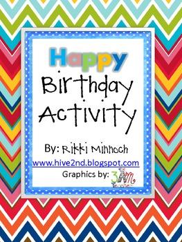Birthday Activity