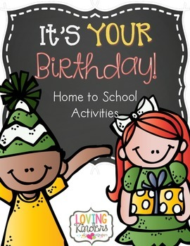 Birthday, Take Home Activity