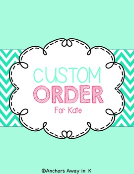 Kates custom order