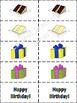 Birthday Bingo! - Plus bonus Birthday Memory Game!