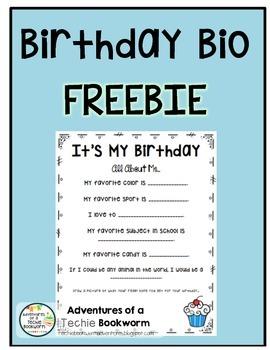 Birthday Bio