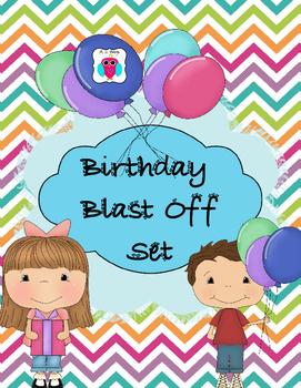Birthday Blast Off Set