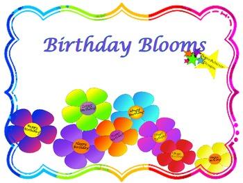 Birthday Blooms