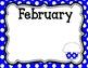 Birthday Boards: Polka Dots