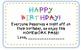 Birthday Book Labels and Homework Passes Freebie