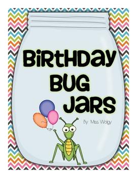 Birthday Bug Jars