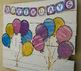 Birthday Bulletin Board Display with Fillable Birthday Mon