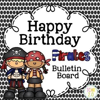 Pirate Birthday Bulletin Board