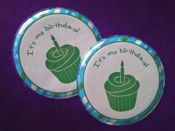 Birthday Button Printable