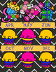 Birthday Chart 2 Page for Planner