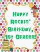 Birthday Class Book