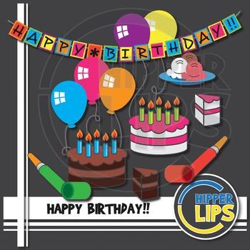Birthday Clip Art Fun!