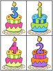 Birthday Counting 1-10