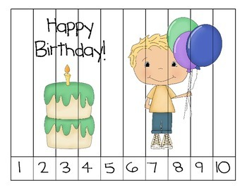 Birthday Counting Puzzles
