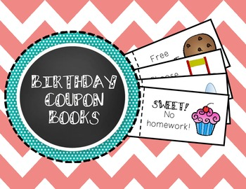 Birthday Coupon Book - Fun (and cheap!) Birthday Gift for