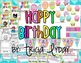 Birthday Decorations and Student Book {Wall Decor and Stud