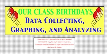 Birthday Graphing SMARTBoard Lesson ~ Back to School