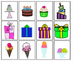 Birthday Matching File Folder