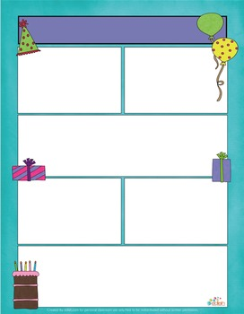 Birthday Newsletter For Word