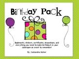 Birthday Pack Extravaganza (Everything You Need to Celebra