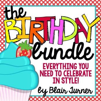 Birthday Pack - Polka Dots and Cupcakes