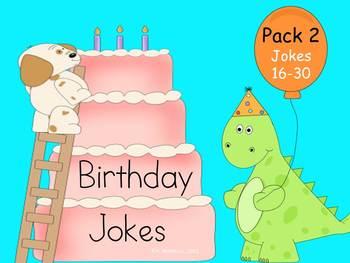 Birthday Phonics Jokes Pack 2