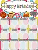 Birthday Poster (Bright Circus Theme)