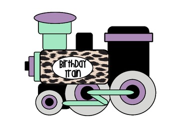 Birthday Train - Jungle Theme