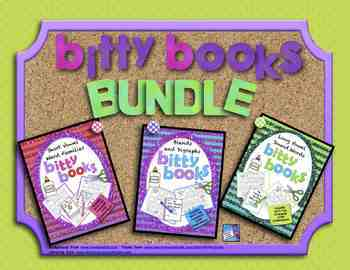 Bitty Books Bundle: Short Vowels, Long Vowels, Blends, and