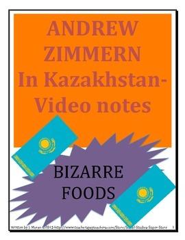 Bizarre Food in Kazakhstan - MIDDLE SCHOOL