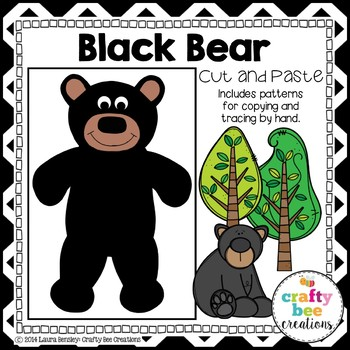 Black Bear Cut and Paste