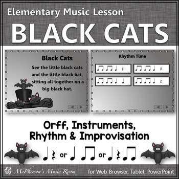 Black Cats: Orff, Rhythm, Instruments and More