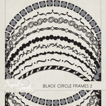 Black Circle Frames 2