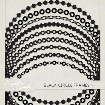 Black Circle Frames 4