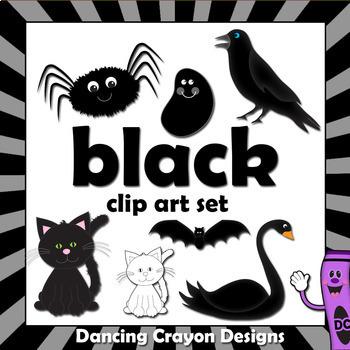 Black Clip Art - Color Clipart Series Set 9