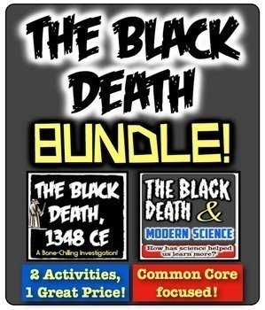Black Death Bundle! 2 Investigations about Bubonic Plague,