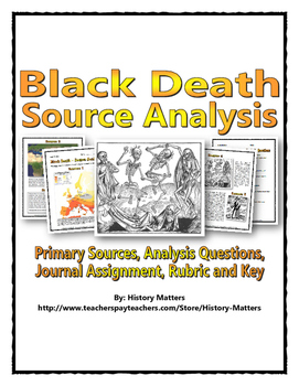 Black Death - Source Analysis (Questions / Assignment with