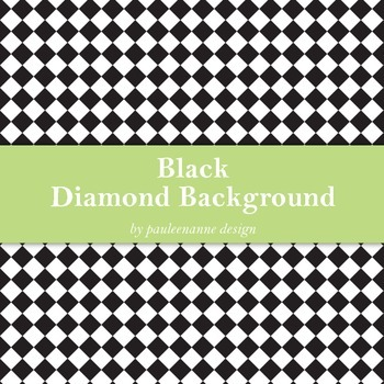Black Diamond Background