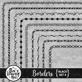Borders - Black Set 4