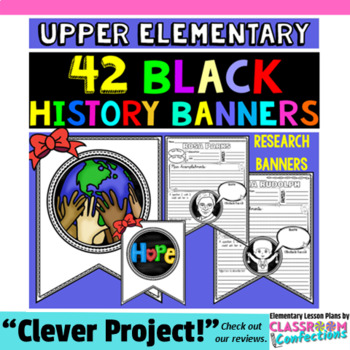 Black History Month: Research Project Banner