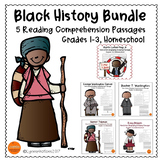 Black History Bundle: Reading Comprehension Passage For Gr