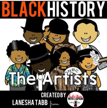 Black History Clip Art- Artists
