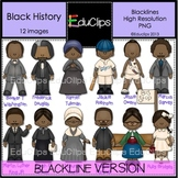 Black History Clip Art BLACKLINES