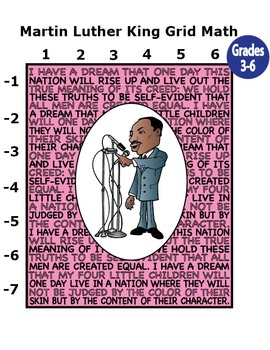 Martin Luther King Mystery Puzzle